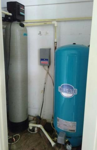 Middleburg, VA. Electric Water Heater and Softener for Hardness. - Before Photo