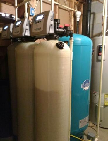 Middleburg, VA. Electric Water Heater and Softener for Hardness. - After Photo