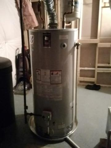 Purcellville, VA Gas Water Heater Replacement.