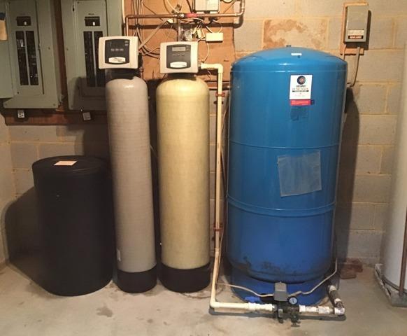 Leesburg, VA. Pressure Tank Replacement - Before Photo