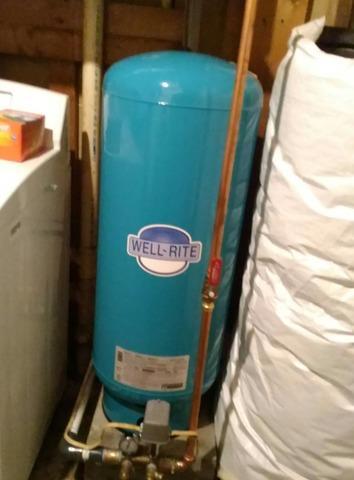 Winchester, VA Pressure Tank Install