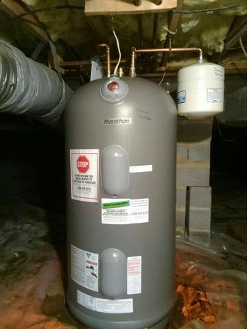 Middleburg, VA Marathon Electric Water Heater Replacement