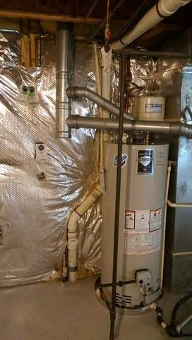 Leesburg, VA Gas Water Heater Replacement - After Photo