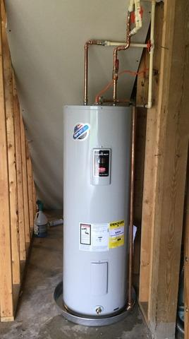 Front Royal, VA. Electric Water Heater Replacement