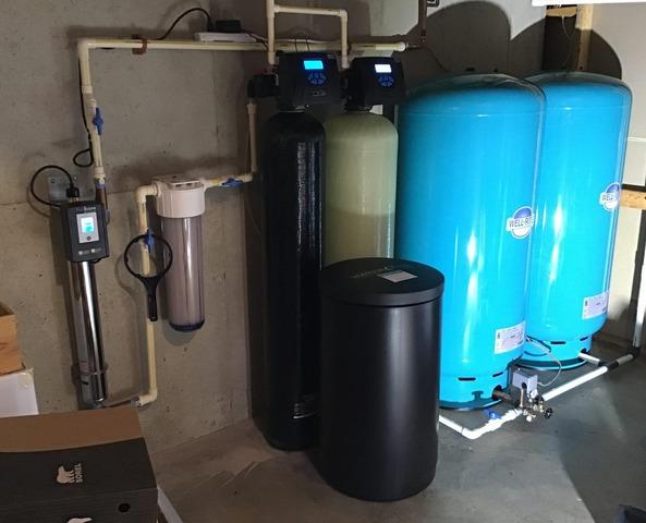 Middleburg, VA Pressure Tank and Water Softener Upgrades