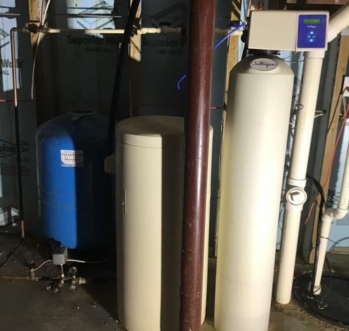 Round Hill, VA Pressure Tank Replacement and Watercare Caresoft Elite Resin Softener