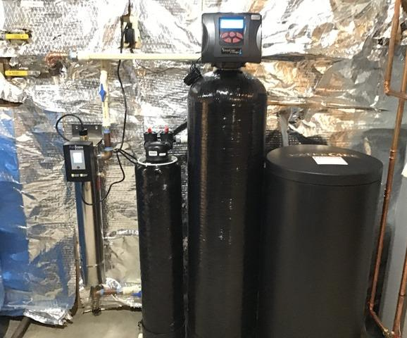 Upperville, VA WaterCare Caresoft Elite Softener Installed