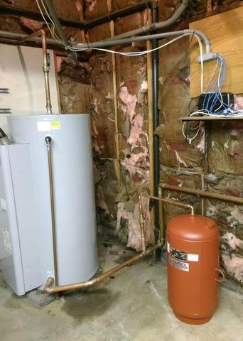 Leesburg, VA Water Heater Replacement. - After Photo