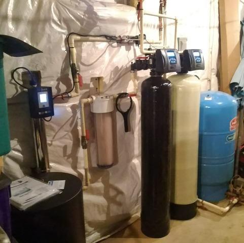 Warrenton, VA. WaterCare Water Softener and WaterCare Air Cat Install