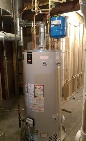 Chantilly, VA. Water Heater Install