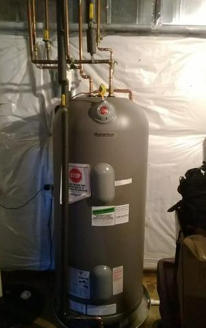 Warrenton, VA Marathon Water Heater Installed