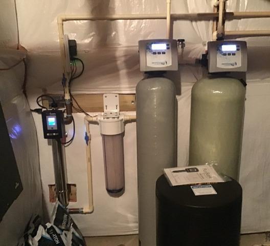 Aldie, VA Water Treatment Install