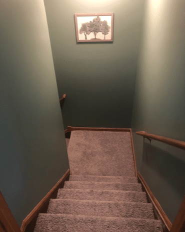 New Beautiful Stairs! - After Photo
