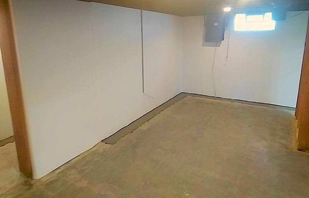 Waterproofing Project in Canton, Ohio - After Photo