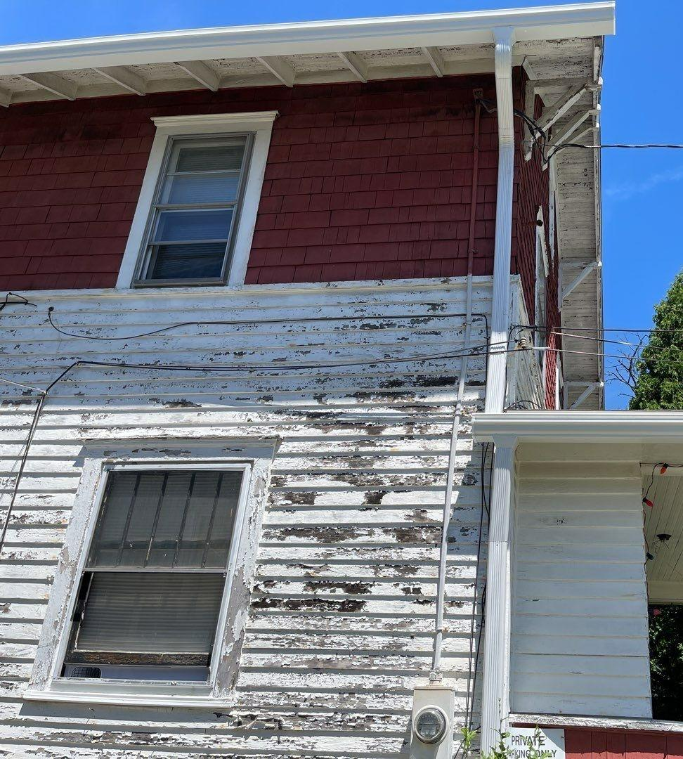 Double Home Gutter Replacement in Brookfield, Ohio - After Photo