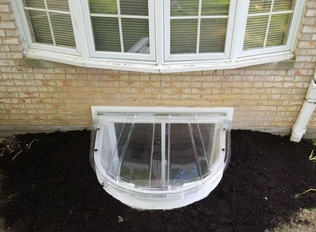 Perfect Egress Window in Avon Lake - After Photo