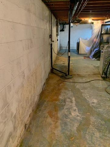 Wet Basement Restored in Aurora, Ohio