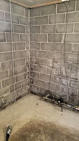 Sump Pump Installation in Massillon, OH - Before Photo