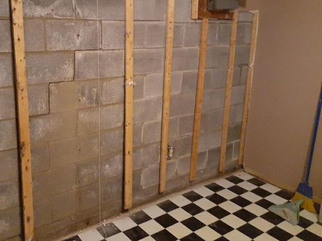 Waterproofing a Garfield Heights, Ohio Basement