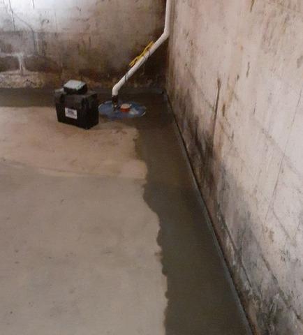 Waterproof Transformation in Huntsburg, Ohio