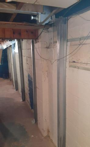 Bowing Wall Undertaking in Sheffield Lake, Oh