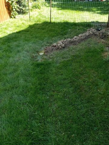 Exterior Drain Before & After in Alliance, Ohio