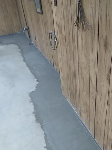 Drain installed in a New Philadelphia Basement