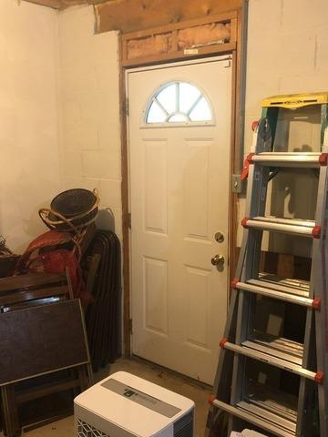 Kensington, Ohio Doorway in Finished Basement