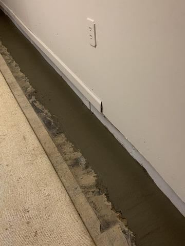 WaterGuard® Installed in Pierpont, Ohio Basement