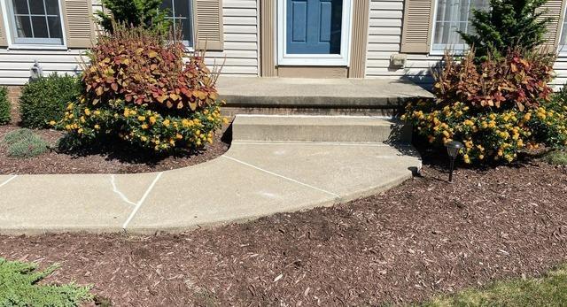 PolyLevel® Lifts Sidewalk in Kent, Ohio