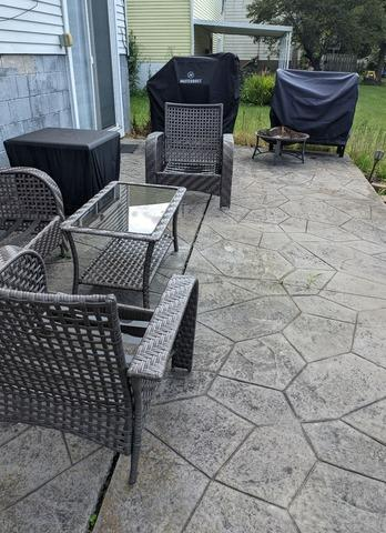 Lifted Patio in Kent, Ohio Using PolyLevel®