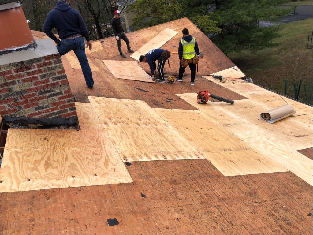 Roof Renovation In Bridgewater, NJ - Before Photo