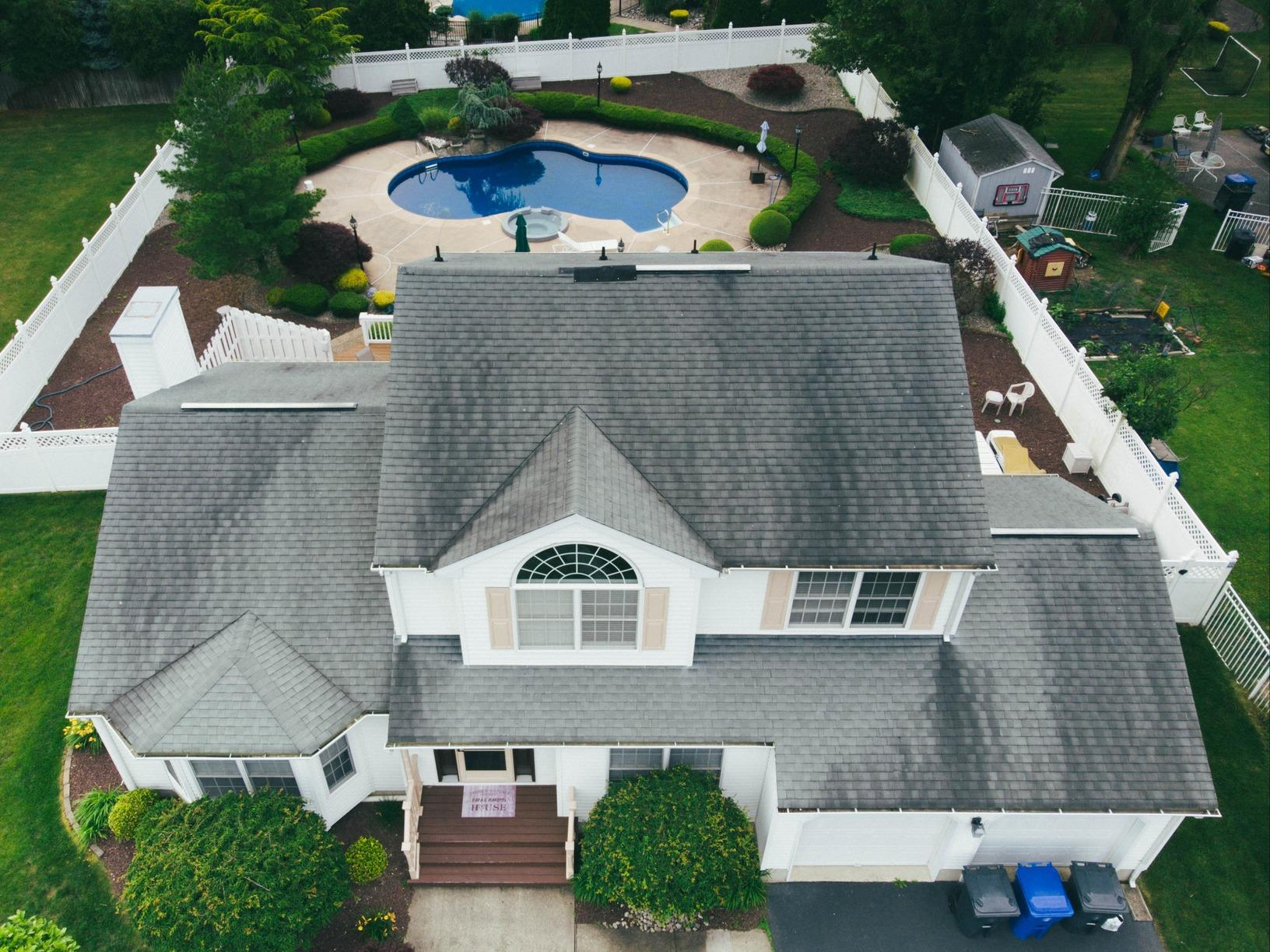 Total Roof Transformation In Toms River, NJ - Before Photo