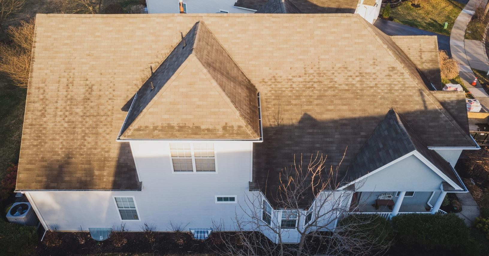 Roof Replacement in West Windsor, NJ - Before Photo