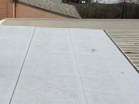 Deteriorating Flat Roof Replaced In Manville, NJ - After Photo