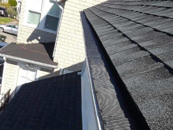 Gutter Protection System Installed In Dunellen, NJ - After Photo