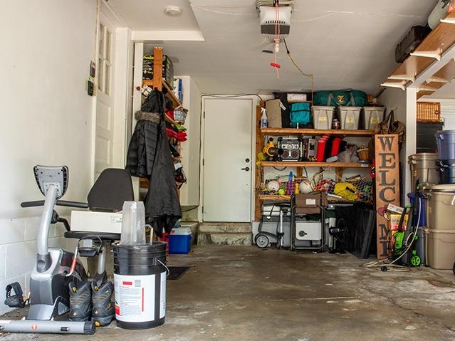 Garage Storage and Organization Service in Omaha, Nebraska - Before Photo