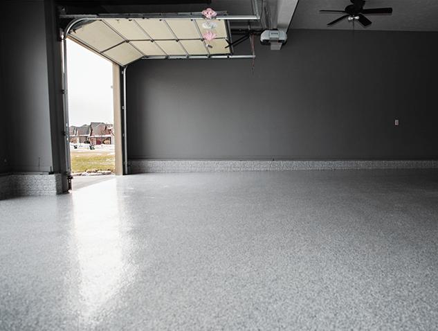 Garage Floor Coating Service in Papillion, Nebraska - After Photo