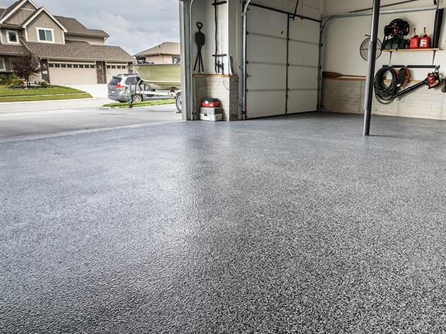 New Garage Floor Coating Service in Papillion, NE - After Photo