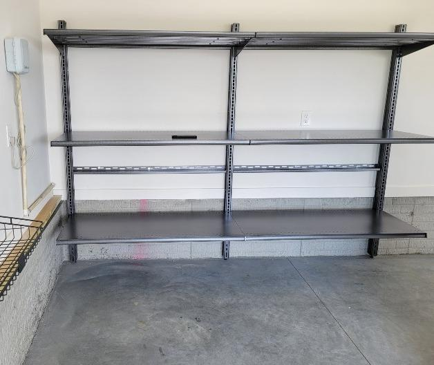 Garage Shelving and Slatwall Install in Papillion, NE - After Photo