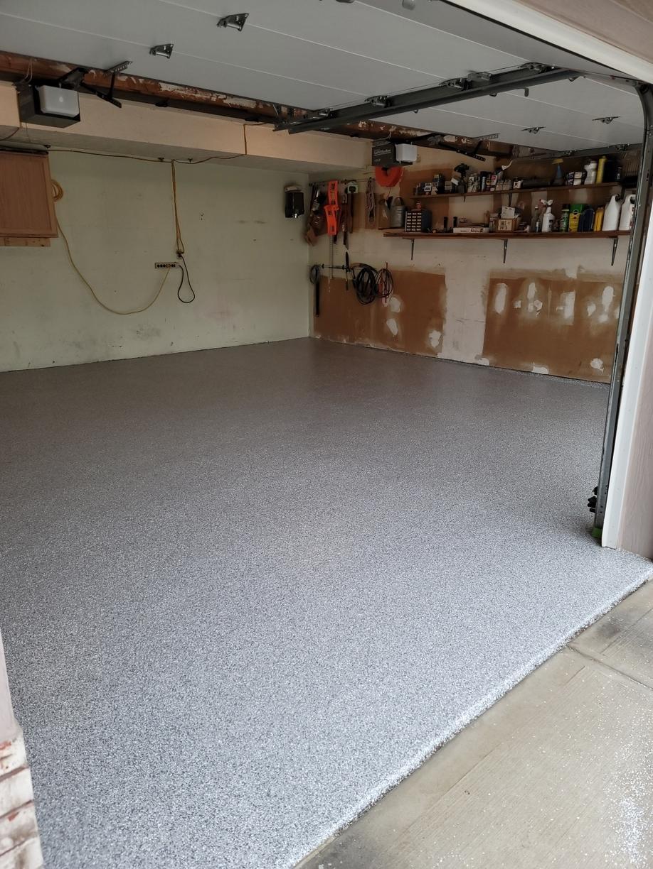 Garage Flooring in Omaha, NE - After Photo