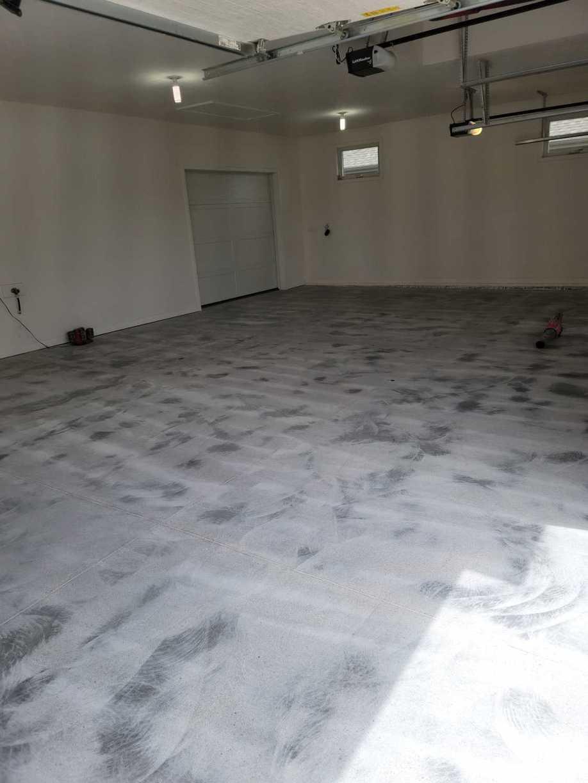 Garage Floor Coating Service in Papillion, NE - Before Photo