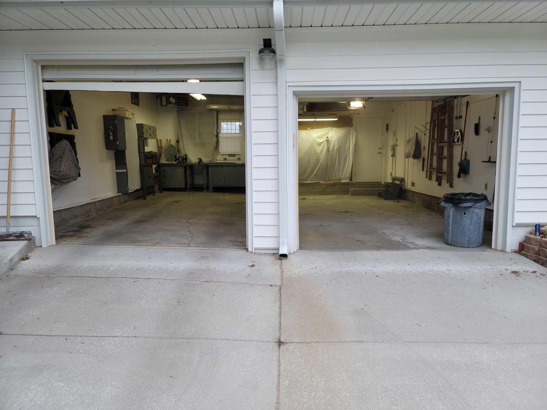 Garage Floor Coating Service in Omaha, NE - Before Photo