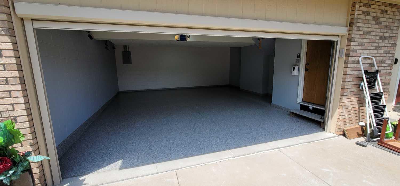 Garage Floor Coating Service in Bellevue, NE - After Photo