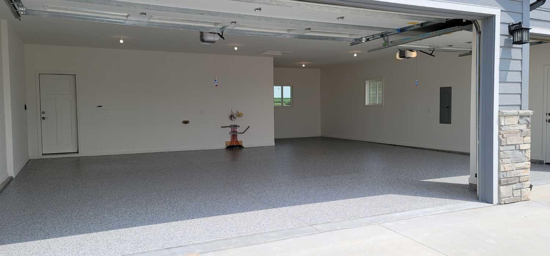 Garage Floor Coating Service in Treynor, IA - After Photo