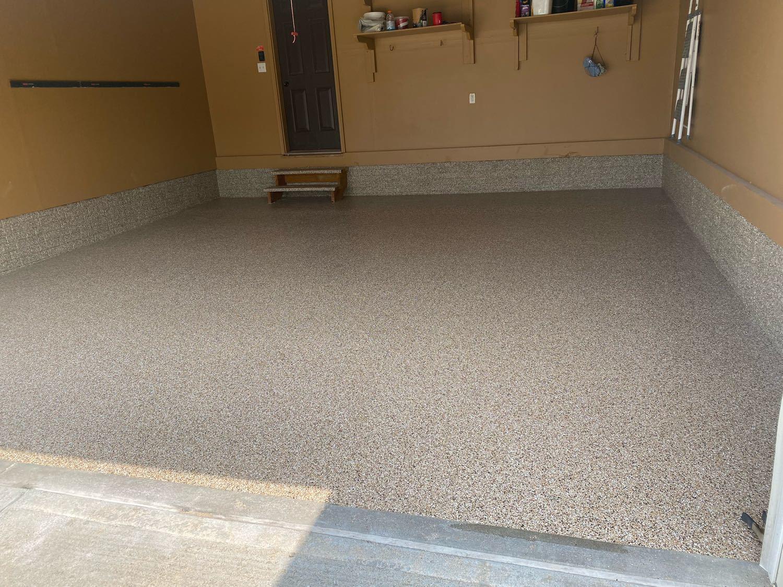 Garage Floor Coating Service in Bennington, NE - After Photo