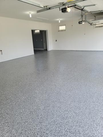 Garage Floor Coating Service in Papillion, NE - After Photo