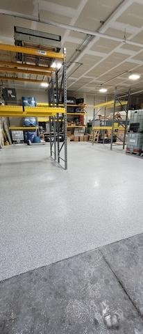 Commercial Garage Floor Coating Service in Gretna, NE