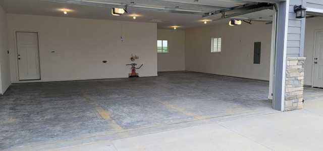 Garage Floor Coating Service in Treynor, IA - Before Photo