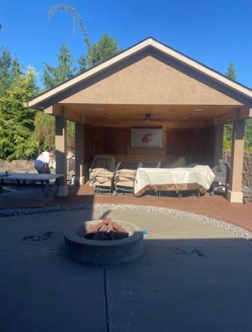 Classic texture patio in Richland, WA